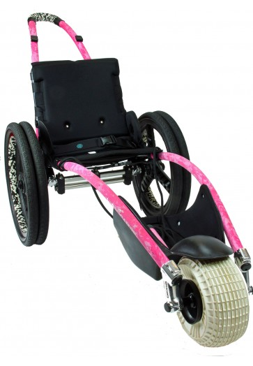 Pink Hippocampe Beach Wheelchair