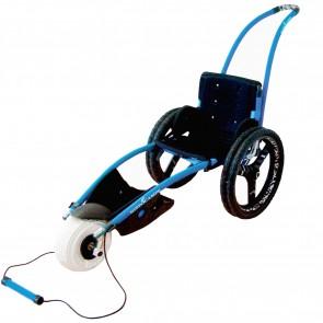 Hippocampe Beach Wheelchair + Towrope