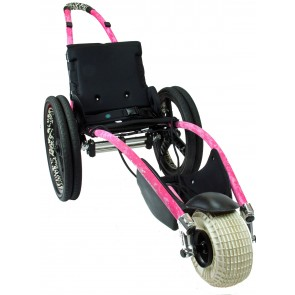 Pink Hippocampe Beach Wheelchair