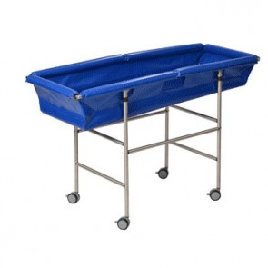 Atheo Over-Bath with trolley base