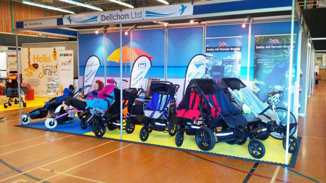 Deltas Hippocampes and Foam-Karve on display at Kidz South