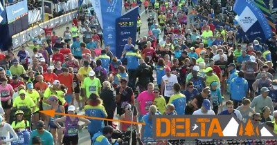Delta All-Terrain Buggy crosses NY Marathon finish