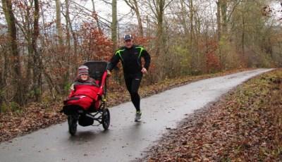 Delta runs through Autumn trees