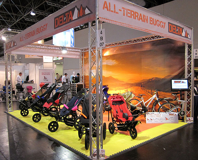 Exhibition Stand Gimmicks : Delichon news a successful rehacare exhibition