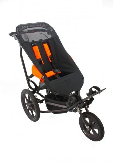 Black Delta with Orange Pads