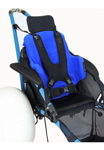 Backrest Vacuum Insert in Hippocampe Wheelchair