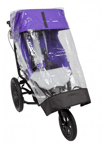 Delta Buggy with Sun Canopy and Rain Cover