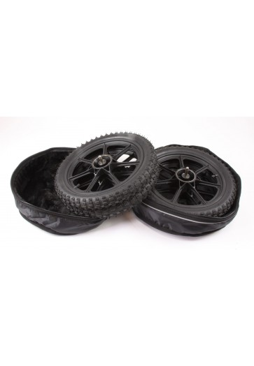 Delta Beach Wheels in open storage bag