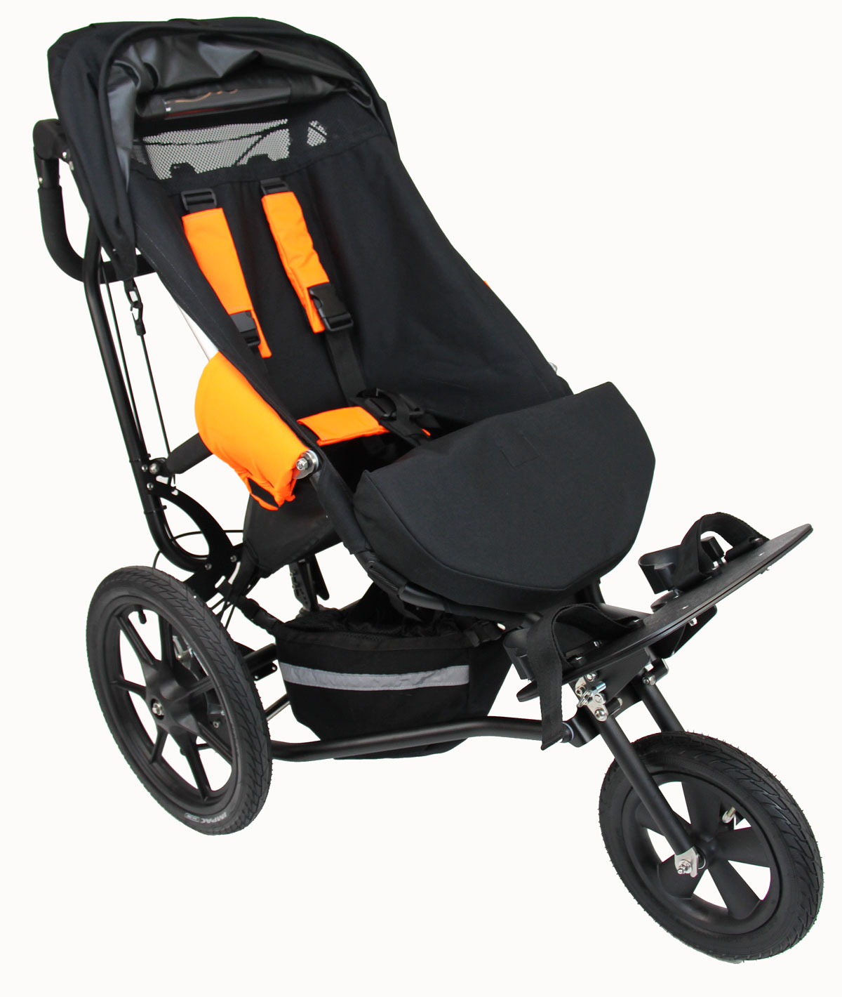 Delta All-Terrain buggy with seat extender fitted