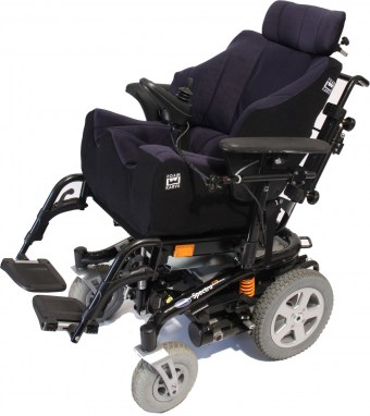 Navy & Black Foam-Karve on Spectra XTR Wheelchair