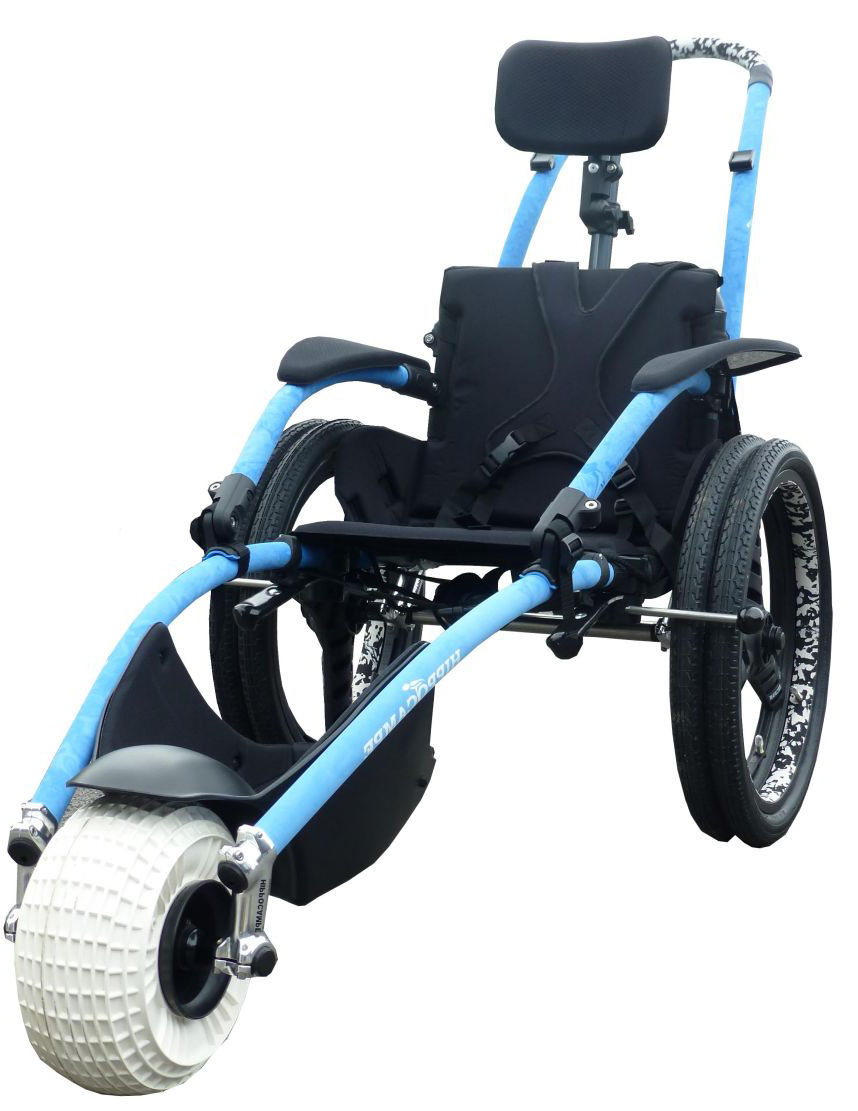 Delichon Hippo About The Hippocampe Beach Wheelchair