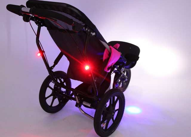 Delta buggy with new lighting kit