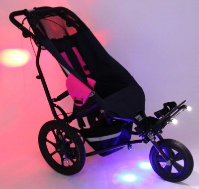 Side View-Delta All-Terrain Buggy With Full Lighting Kit