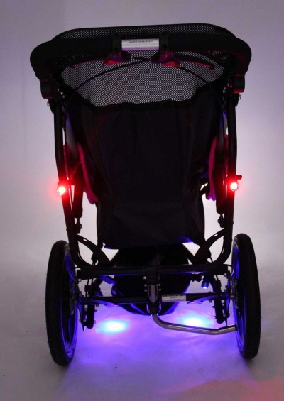 Rear View-Delta All-Terrain Buggy With Full Lighting Kit