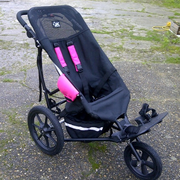 Blank and Pink Delta Buggy