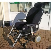 Black Foam-Karve seat on Ibis wheelchair