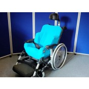 Foam-Karve Seat on IBIS Wheelbase with sky blue covers